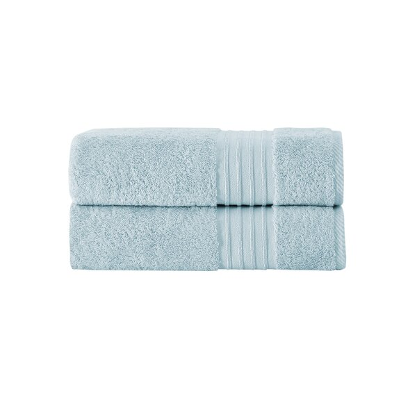 Elkton 2 Piece 100% Cotton Bath Towel Set (Set of 2) by Greyleigh